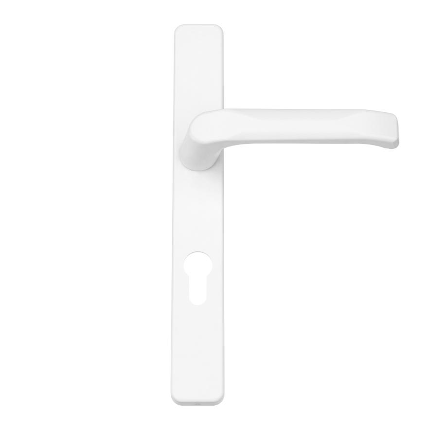 Innendrücker Aluminium - Farbton Weiß RAL 9016