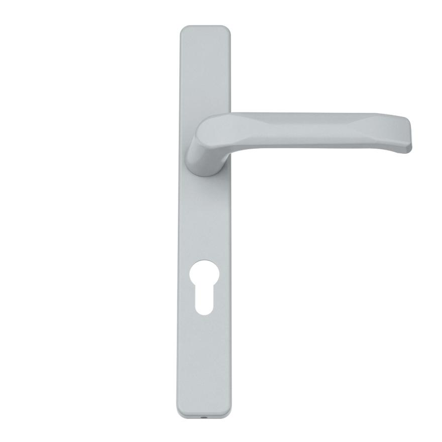 Innendrücker Aluminium - Farbton Silber