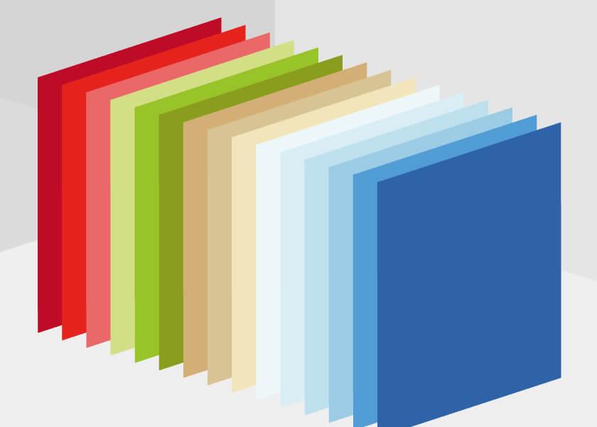Farben für Haustüren aus Kunststoff