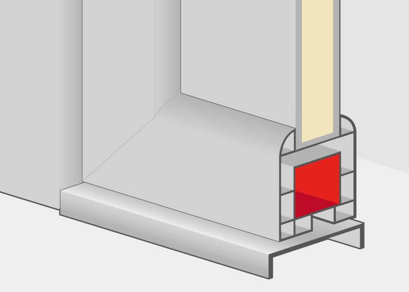 Haustüren Kunststoff Profildetails