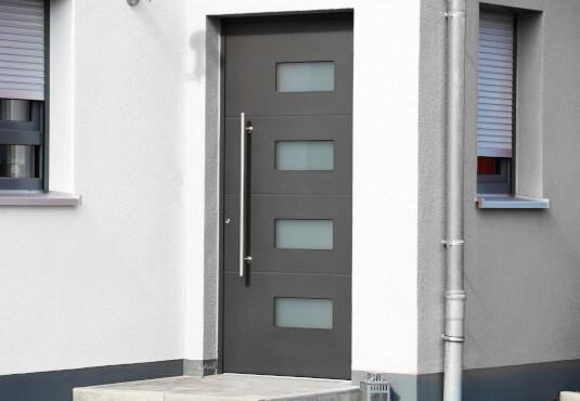 Aluminium Haustüren sind im Vergleich korrosionsbeständig