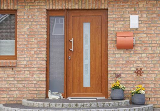 Haustüren Material Holz ist umweltfreundlich