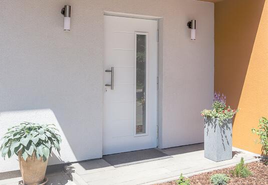 Kunststoff Haustüren sind im Vergleich preiswert
