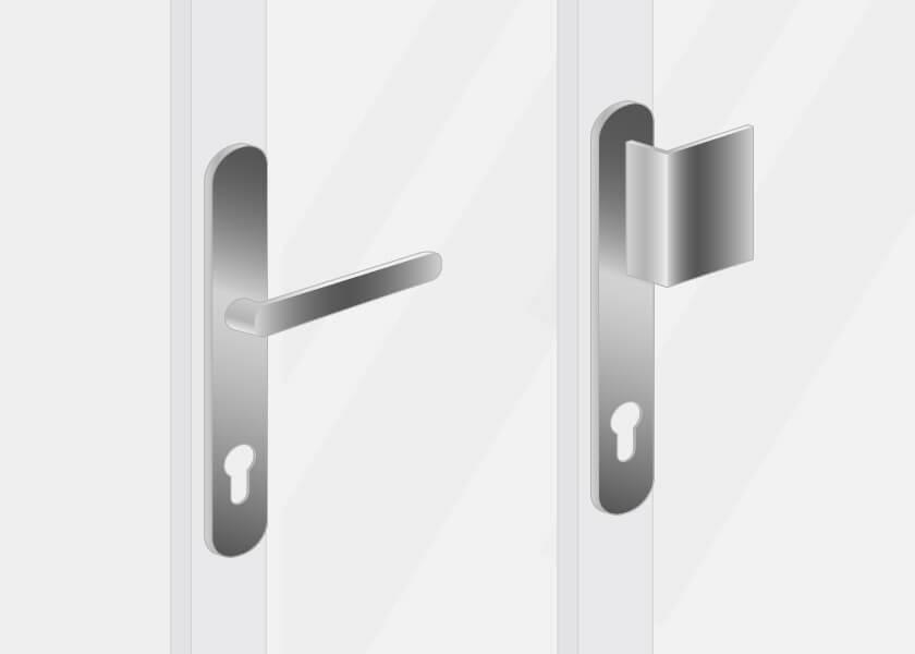 Haustüren Nebeneingangstüren Griffe