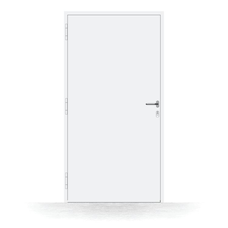 Haustür Modell Gera in Weiß von innen