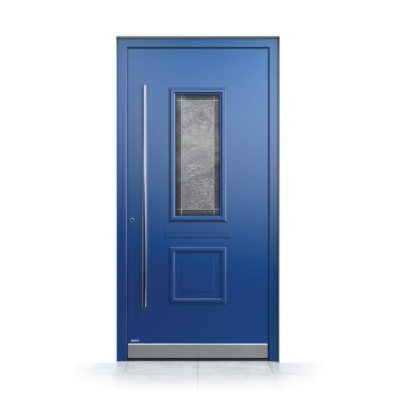 Haustür Modell Bamberg in Blau