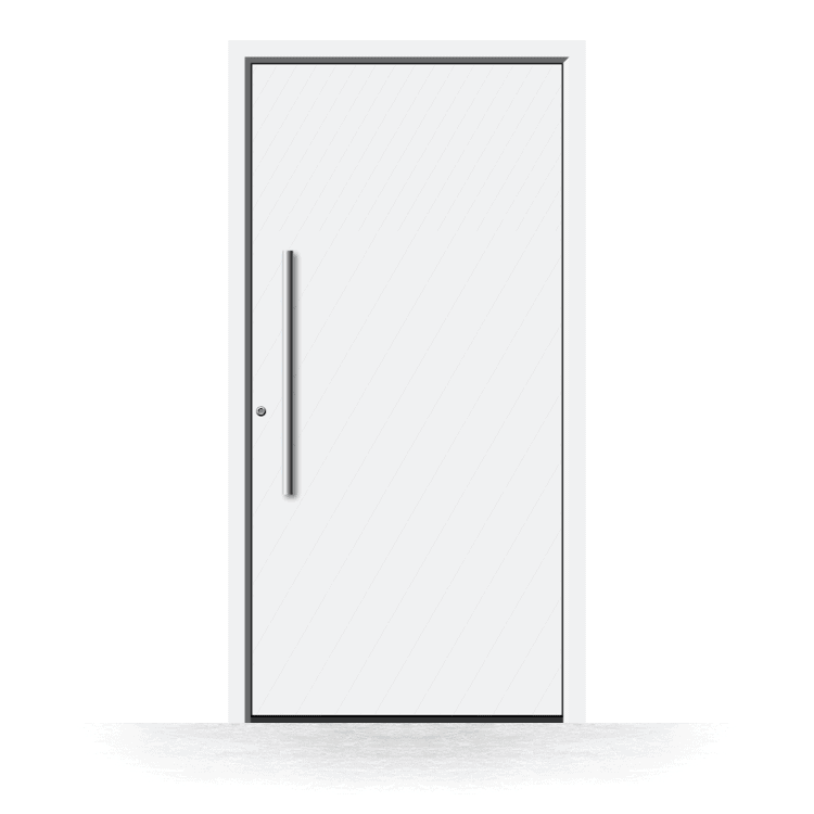 Haustür Modell Gera in Weiß