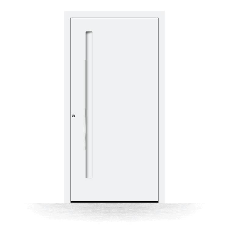 Haustür Modell Bonn in Weiß