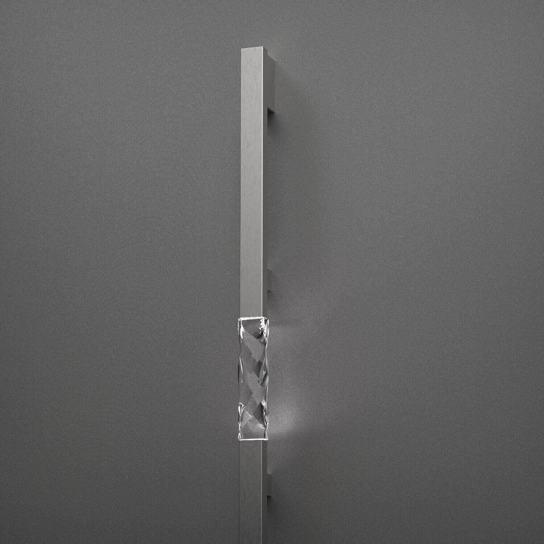 Haustür Stangengriff mit quadratischem Querschnitt
