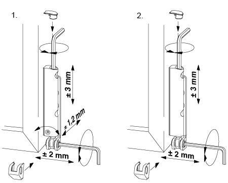 Winkhaus fenster beschl ge wartung pflege einstellung for Reglage porte fenetre pvc oscillo battant