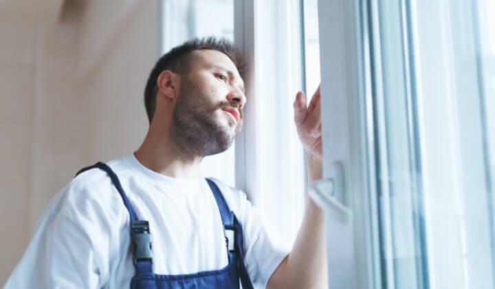 Handwerker Fensteraustausch
