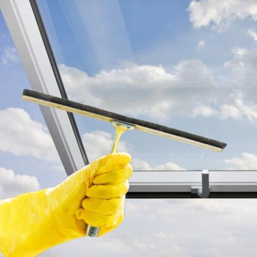 Wie Dachfenster putzen