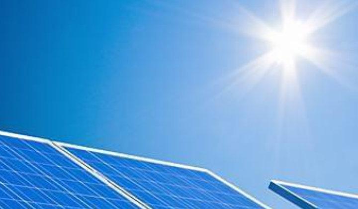 Solarfenster mit Photovoltaik-Modulen