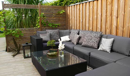 windschutz f r die terrasse den balkon den garten. Black Bedroom Furniture Sets. Home Design Ideas