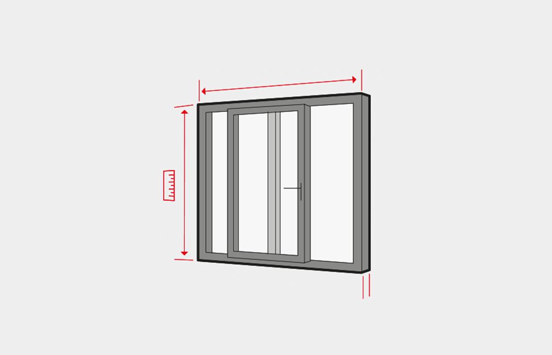 hebeschiebet r ausmessen anleitung schritt f r schritt. Black Bedroom Furniture Sets. Home Design Ideas