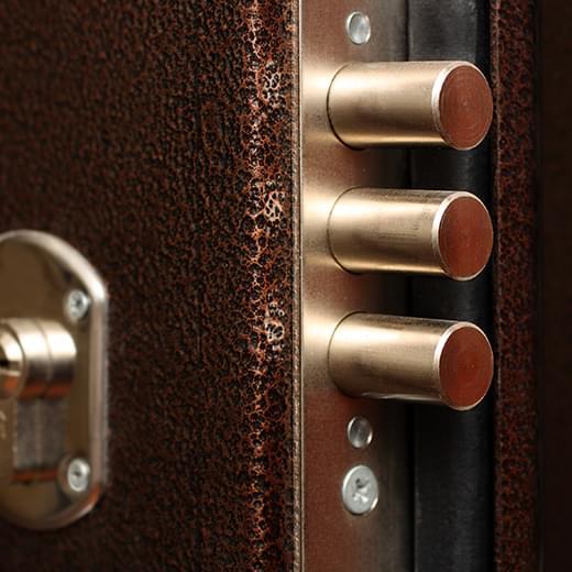 Eingangstüren Sicherheitsverriegelung