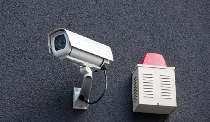 Alarmanlage mit Kameraüberwachung