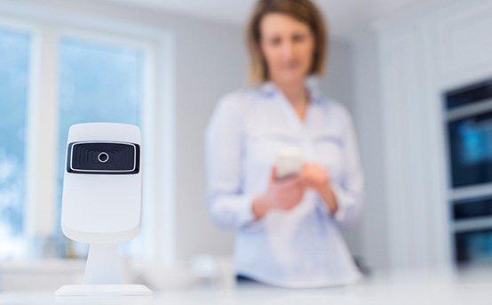 Smart Home Kamera für Innen