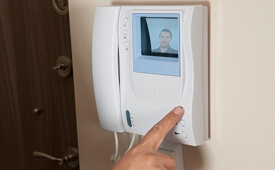 Smart Home Türschloss Videosprechanlage