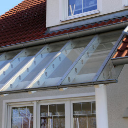 Terrassenüberdachung Glas