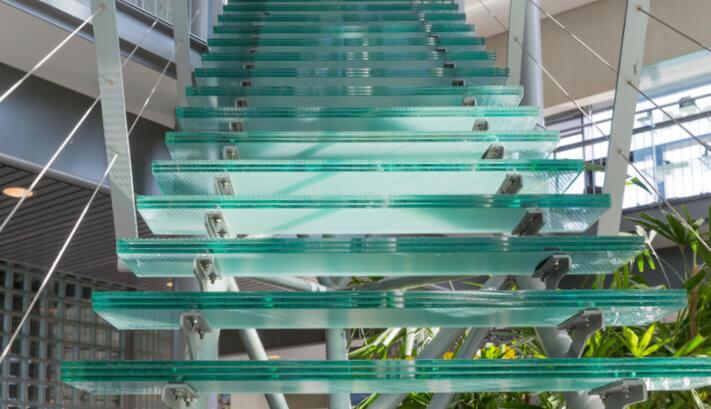 Begehbare Stufen