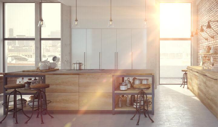 Fensterglas modern