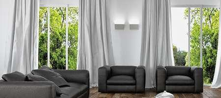 Fensterdeko ideen dekoration fenster fensterbrett - Fensterdeko ohne gardinen ...