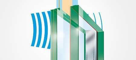 Funktionsweise Fenster Lärmschutz