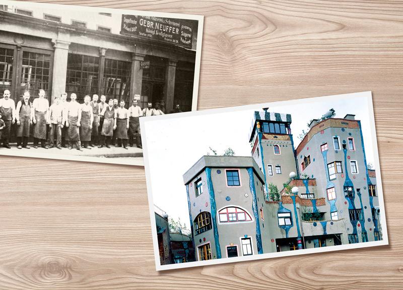 Aufträge für die Fenstermontage aus der Vergangenheit