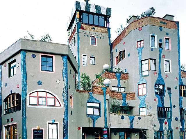 Das Hundertwasserhaus in Bad Soden