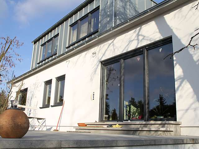 Fenstermontage im Neubau