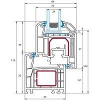 Kunststofffenster detail dwg  Fenster Detailzeichnungen + CAD Pläne bei fensterversand