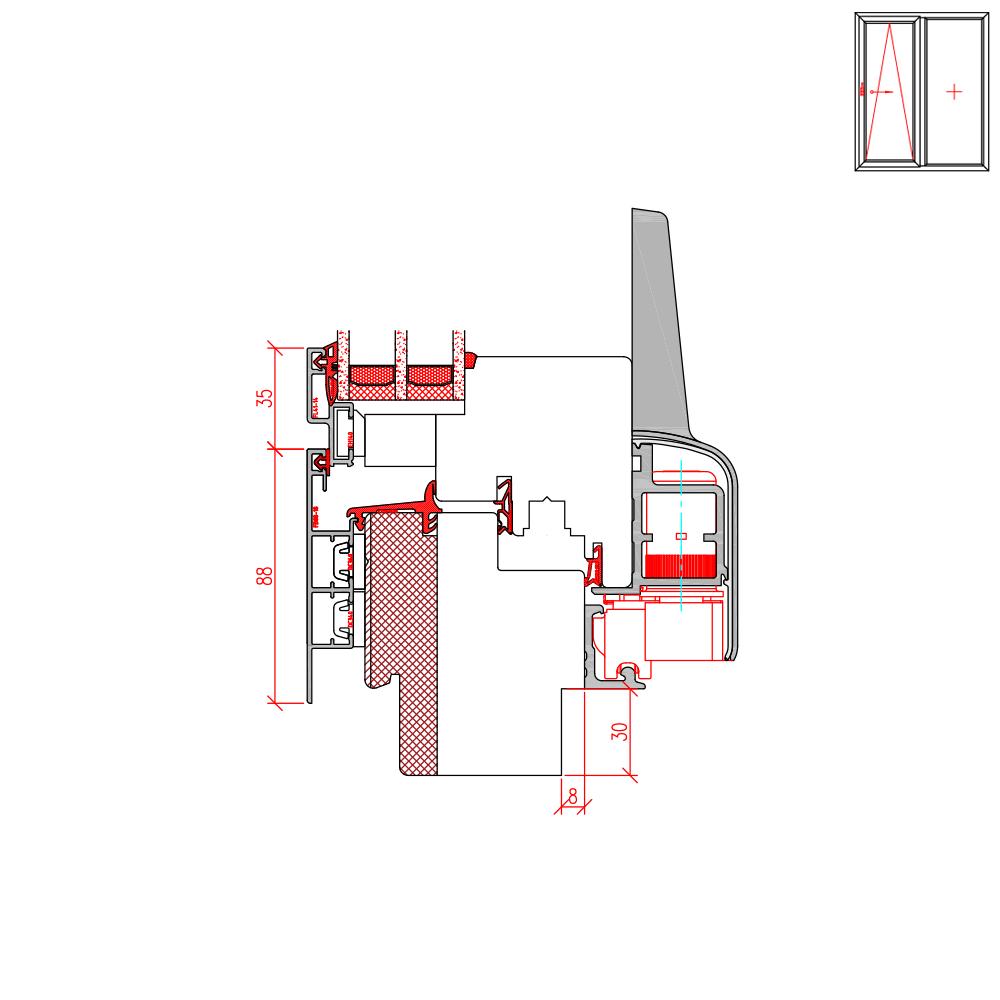 ECO Plano PSK - Neubaufräsung