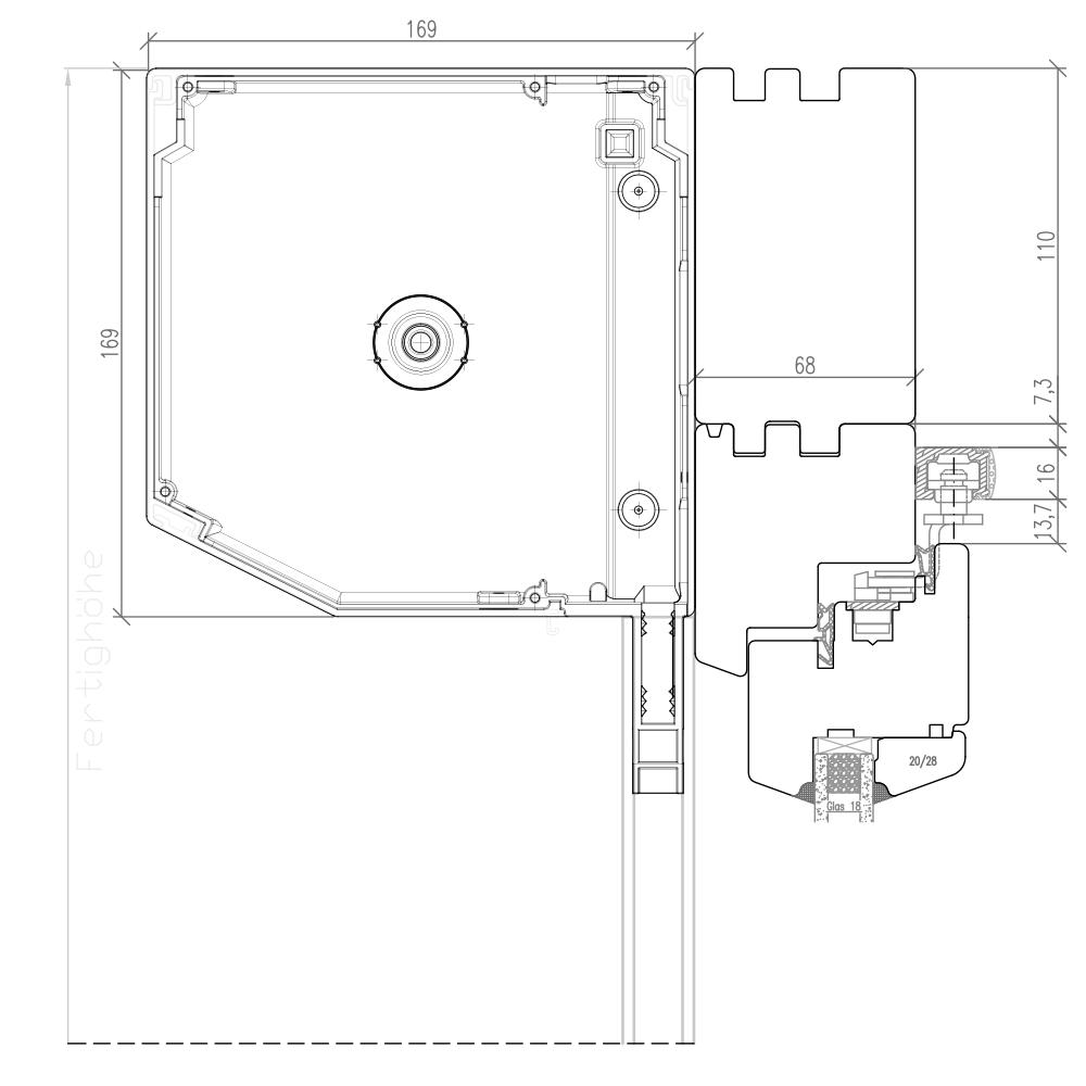 IV 68 Holz PSK mit Vorbaurollladen Nova