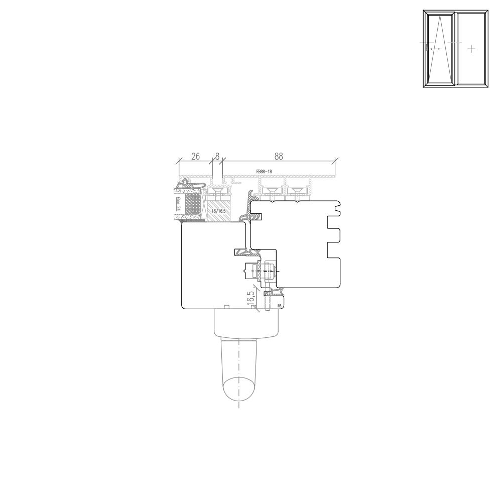 Plano - Detail Griffseite