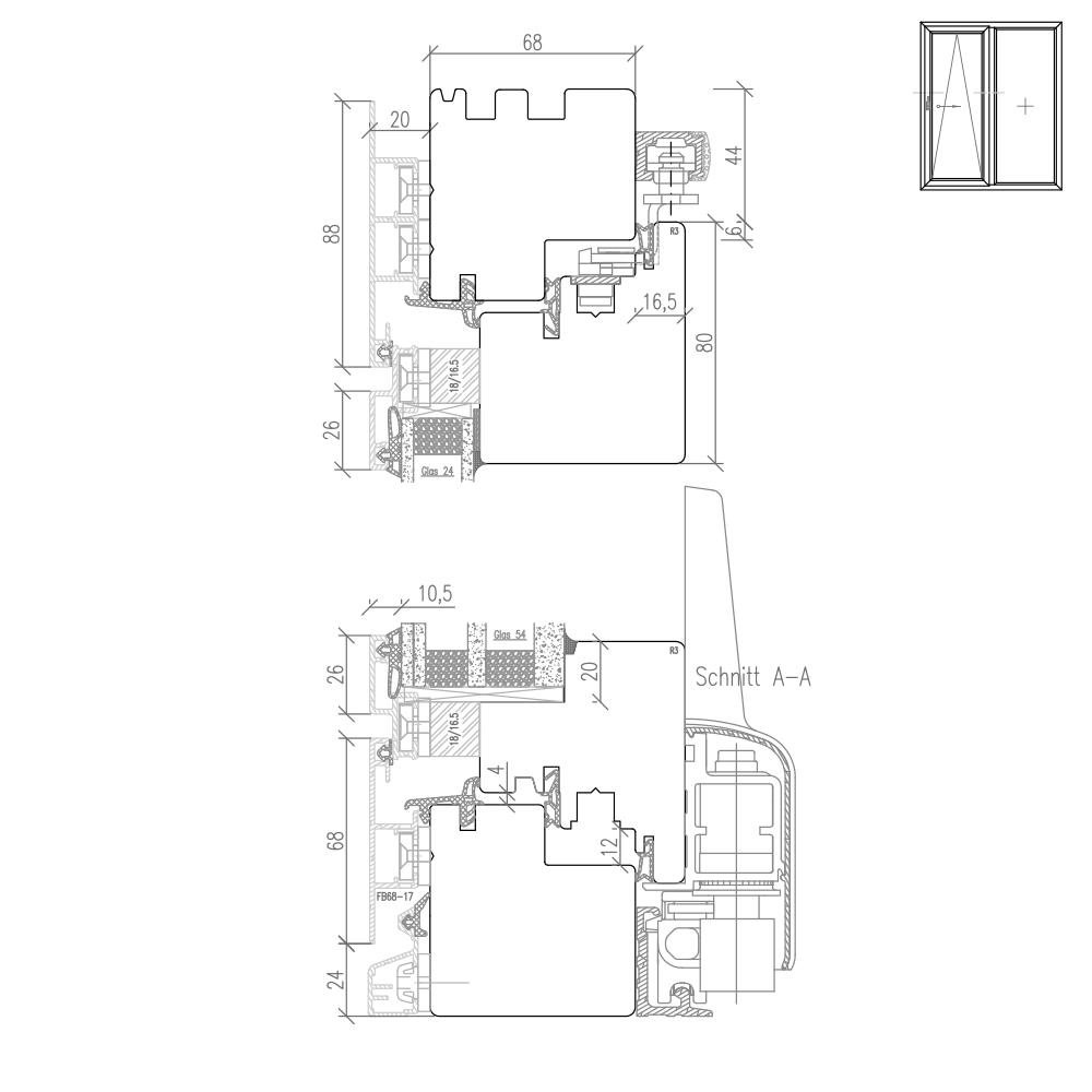 Plano - Detail Höhenschnitt