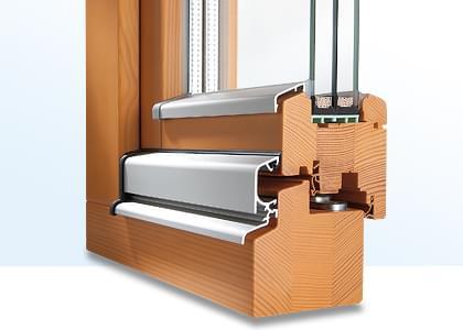 PSK Tür aus Holz