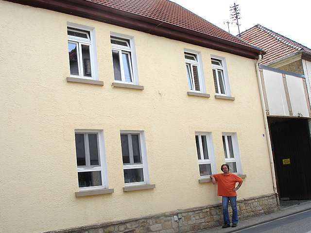 17 Holzfenster in Mainz