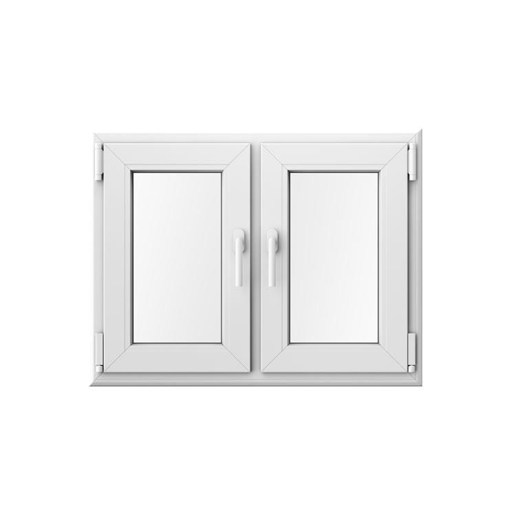 Doppelflügelfenster mit Mittelsteg