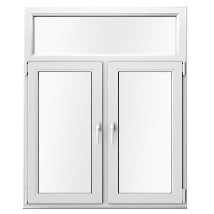 Doppelflügelfenster mit Oberlicht und Mittelsteg