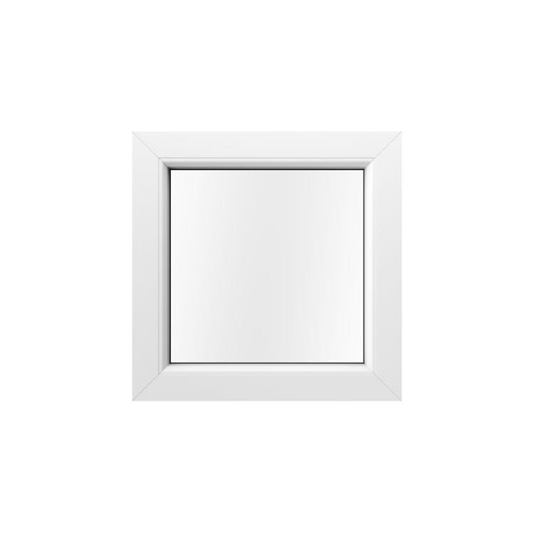 Kunststofffenster in Holzoptik Weiß Innenansicht