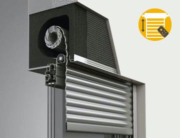Elektrischer Aufsatzrolladen Premium