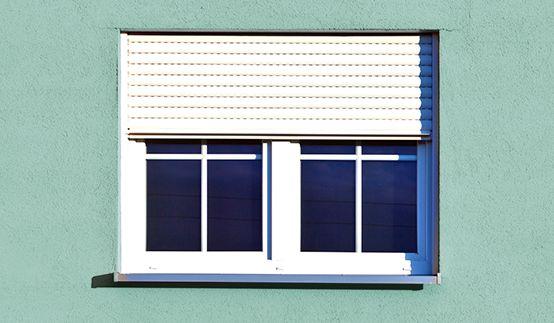 Growe Rollladen Einbausituation Fenster
