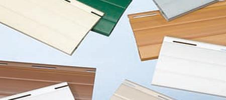 Farben für Rollladenpanzer aus Holz