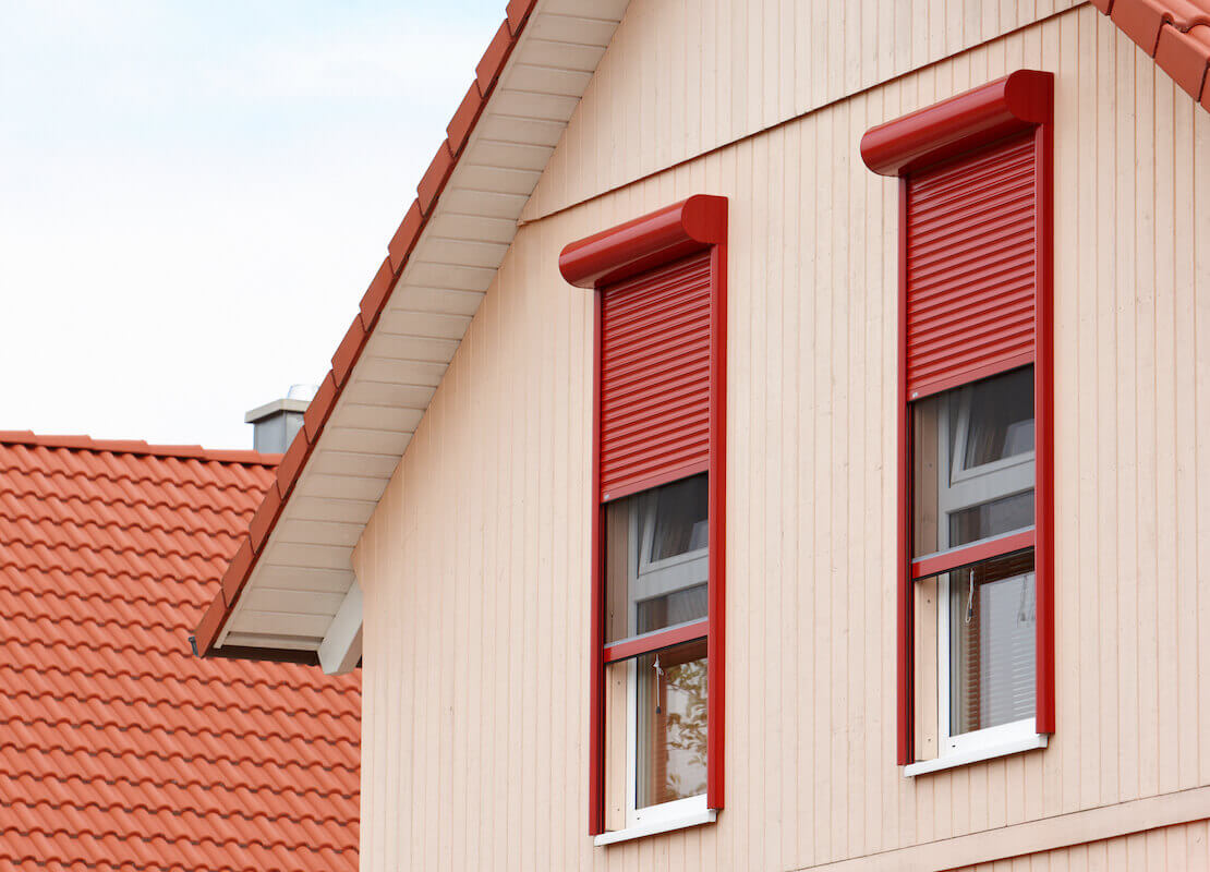 Rolladen bodentiefe Fenster