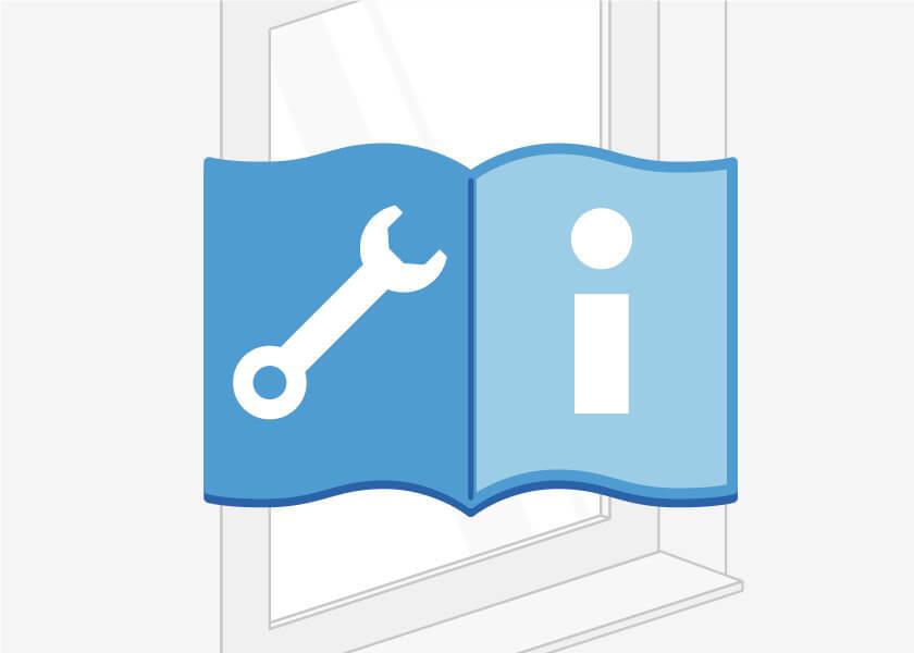 Anleitungen für Einbau von Rolläden