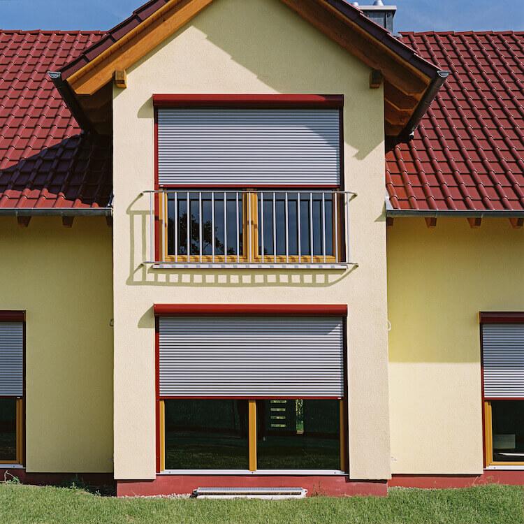 Vorbaurolladen für Balkontür und Terrassentür