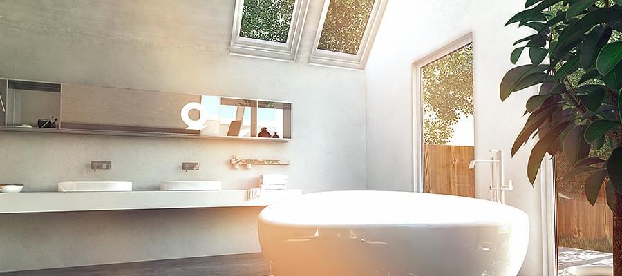 Badezimmerfenster Kaufen » Blickdicht Mit Sichtschutz