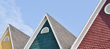 Varianten der Dachbodenfenster
