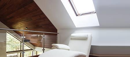 Dachflächenfenster gegen Schimmelbildung